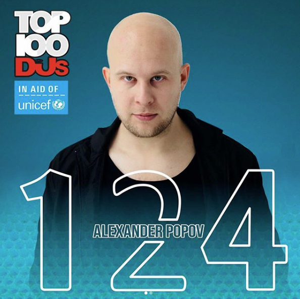 This year #124 DJ in the world huge thanks for your amazing support!